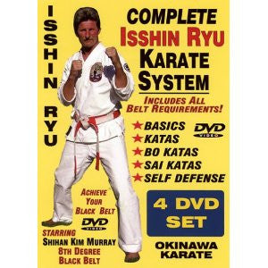 Complete Okinawa Isshin Ryu Karate System 4 DVD Set by Kim Murray 5