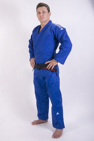 IJF Champion 2 Judo Gi - Blue by Adidas - Budovideos Inc