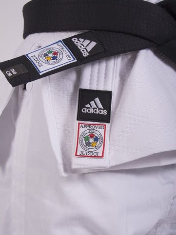 IJF Champion 2 Judo Gi - Slim - White by Adidas