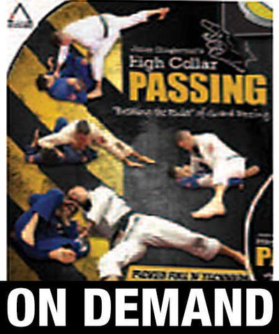 "High Collar Passing ""Breaking the Rules"" of Guard Passing by James Clingerman (On Demand) - Budovideos"