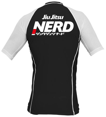 Jiu-Jitsu Nerd Rash Guard Back 2