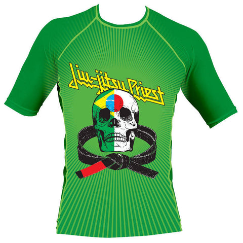 Jiu-Jitsu Priest Rash Guard Front 1