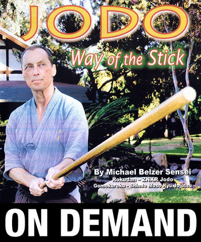 JODO Way of the Stick by Michael Belzer (On Demand)