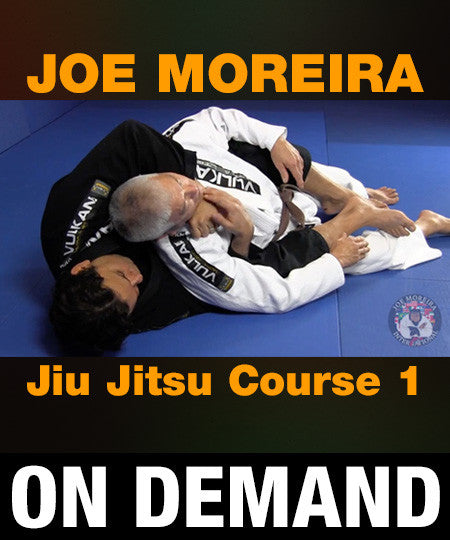 Joe Moreira Jiu Jitsu Course 1 (On Demand) - Budovideos