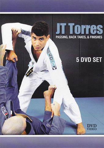 Passing, Back Takes & Finishes 5 DVD Set with JT Torres - Budovideos