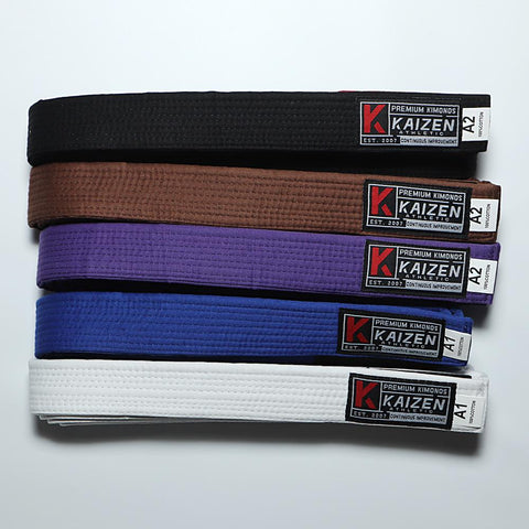 BJJ Belt by Kaizen Athletic - Budovideos Inc