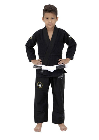 Vulkan Ultra Light Neo Kids Jiu Jitsu Gi - Black - Budovideos Inc