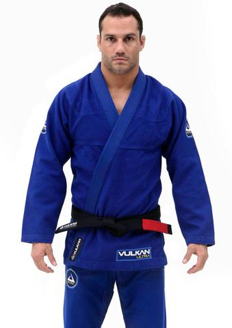 Ultra Light Neo Jiu Jitsu Gi By Vulkan - Royal Blue - Budovideos