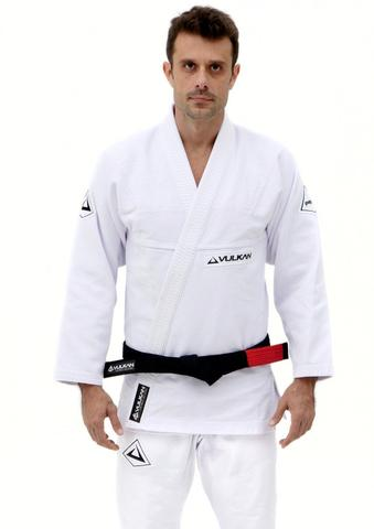 Pro Evolution Jiu Jitsu Gi By Vulkan  -  White