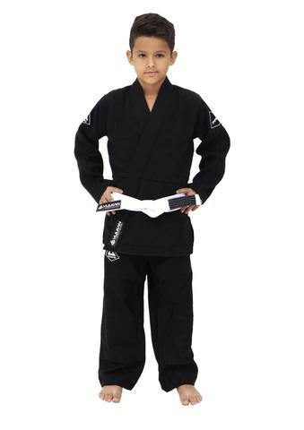 Vulkan Pro Evolution Kids Jiu Jitsu Gi - Black