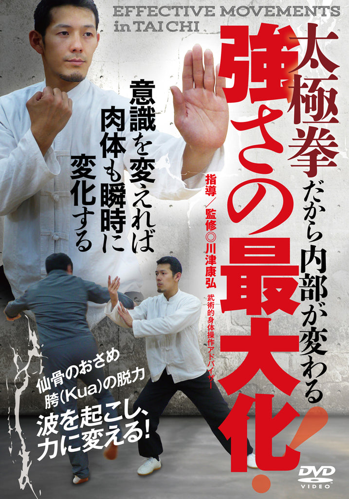 Effective Movements in Tai Chi DVD by Yasuhiro Kawazu - Budovideos