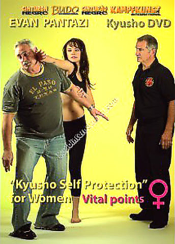 Kyusho Self Protection for Women DVD by Evan Pantazi - Budovideos
