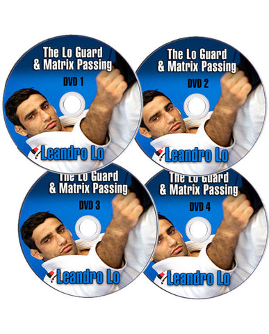 The Lo Guard & Matrix Passing 4 DVD Set by Leandro Lo