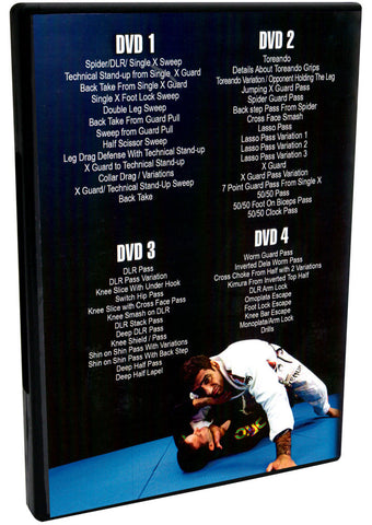 Back - The Lo Guard & Matrix Passing 4 DVD Set by Leandro Lo
