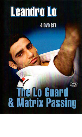 The Lo Guard & Matrix Passing 4 DVD Set by Leandro Lo - Budovideos Inc