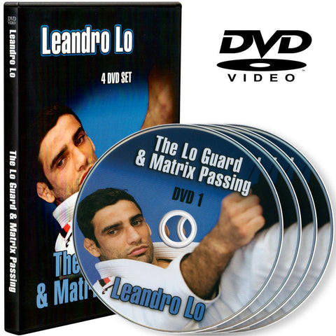 DVD collection - The Lo Guard & Matrix Passing 4 DVD Set by Leandro Lo