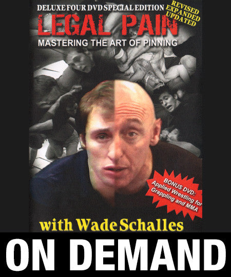 Legal Pain 4 Volume Set with Wade Schalles (On Demand) - Budovideos