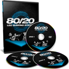 80/20 Leg Surfing System 3 DVD Set by Josh Hayden