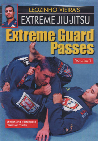 Extreme Jiu-Jitsu DVD 1: Extreme Guard Passes by Leo Vieira Cover 1