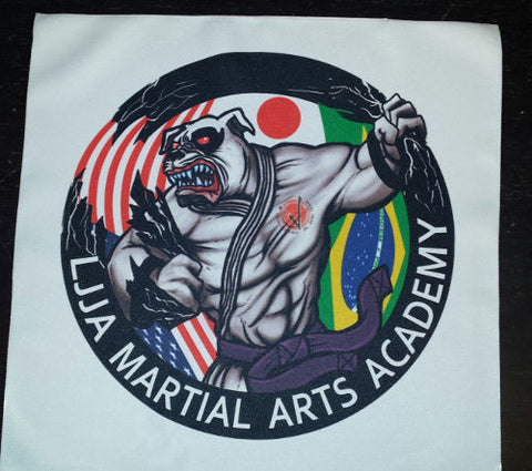 LJJA Martial Arts Academy Custom Patch 9