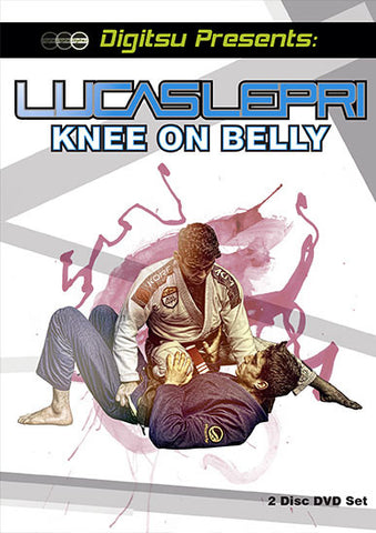 Knee on Belly 2 DVD Set by Lucas Lepri