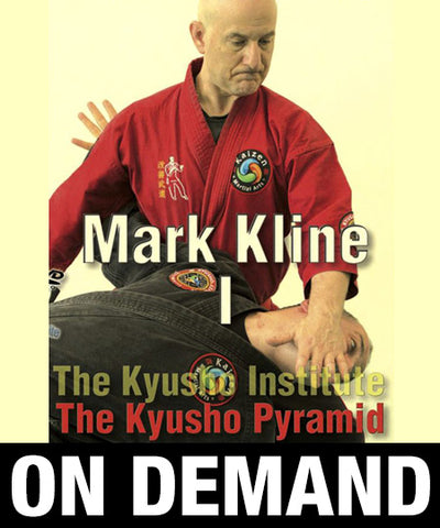 Kyusho Pyramid Vol 1 with Mark Kline (On Demand) - Budovideos