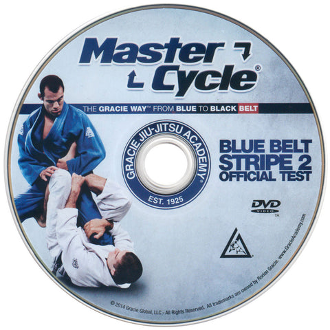 Disc - Gracie Academy Master Cycle: Blue Belt Stripe 2 DVD Official Test