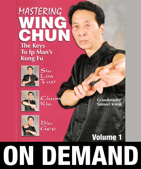 Mastering Wing Chun: Keys to Ip Man's Kung Fu Vol 1 with Samuel Kwok (On Demand) - Budovideos