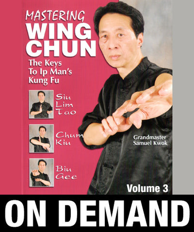Mastering Wing Chun: Keys to Ip Man's Kung Fu Vol 3 with Samuel Kwok (On Demand) - Budovideos