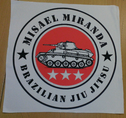 Misael Miranda BJJ Custom Patch 13