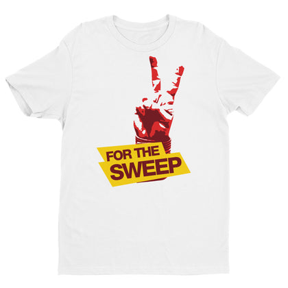 2 Points For the Sweep Brazilian Jiu Jitsu Short Sleeve Brazilian Jiu Jitsu T-shirt - Budovideos