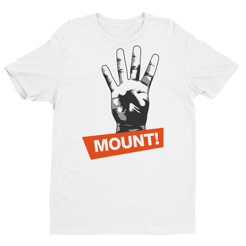 4 Points for the Mount Short Sleeve Brazilian Jiu Jitsu T-shirt - Budovideos Inc
