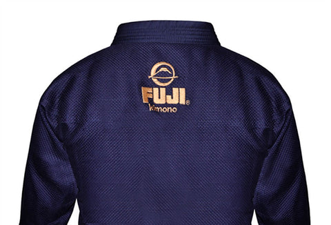 Fuji Logo Back - Kid's Navy All Around BJJ Gi by Fuji