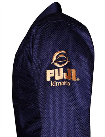 Fuji Logo Side - Kid's Navy All Around BJJ Gi by Fuji