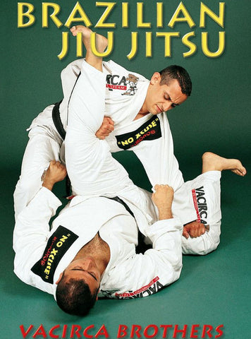 Brazilian Jiu Jitsu White to Blue Belt Program DVD by The Vacirca Brothers - Budovideos