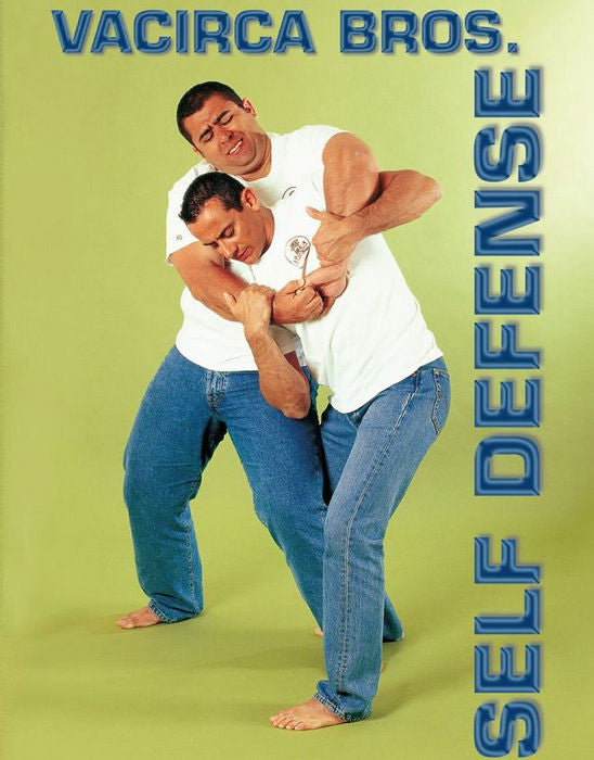 Vacirca Jiu Jitsu Self Defense DVD by The Vacirca Brothers - Budovideos