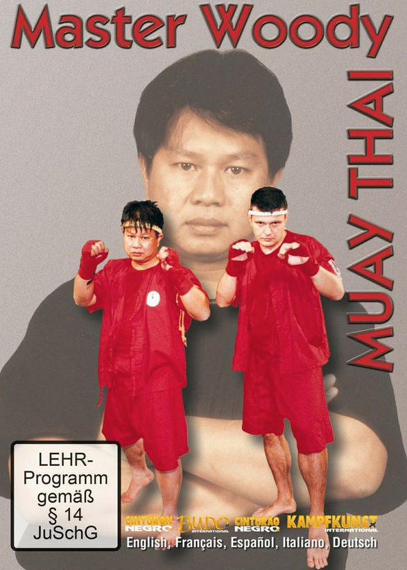 Muay Thai Master Woody DVD Cover 1