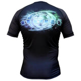 Cosmos Rash Guard by Nogi Industries Short Sleeve(Artist Series) - Budovideos