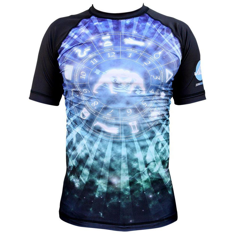 Cosmos Rash Guard by Nogi Industries Short Sleeve(Artist Series)