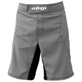 Phantom 3.0 Fight Shorts - Gray by Nogi Industries - MADE IN USA - Budovideos