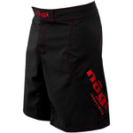Phantom 3.0 Fight Shorts - Black and Crimson by Nogi Industries - MADE IN USA - Limited Edition - Budovideos