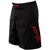 Phantom 3.0 Fight Shorts - Black and Crimson by Nogi Industries - MADE IN USA - Limited Edition