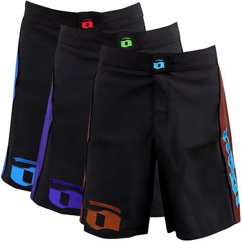 Volt 3.0 Extra Duty Rank Fight Shorts - Blue, Purple, Brown - Budovideos Inc