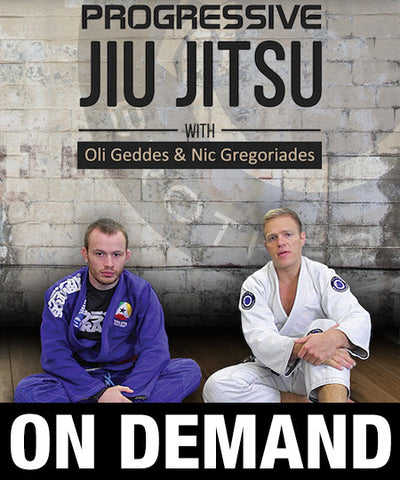 Progressive Jiu-Jitsu with Oliver Geddes and Nic Gregoriades (On Demand) - Budovideos
