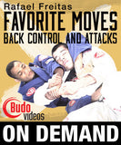 Rafael Freitas Favorite Moves: Back Control & Attacks (On Demand) - Budovideos