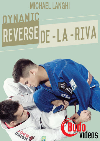 Dynamic Reverse De La Riva Guard DVD with Michael Langhi - Budovideos