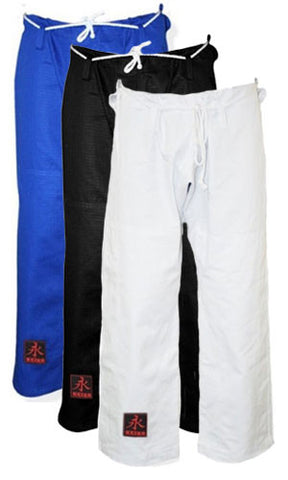 Rip Stop Pants by Keiko Raca (White, Blue, Black)