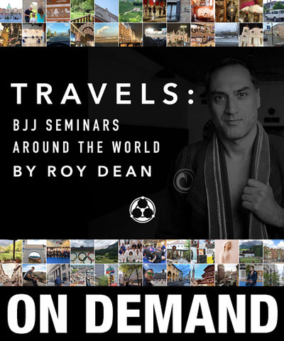 Travels: BJJ Seminars Around the World by Roy Dean (On Demand) - Budovideos