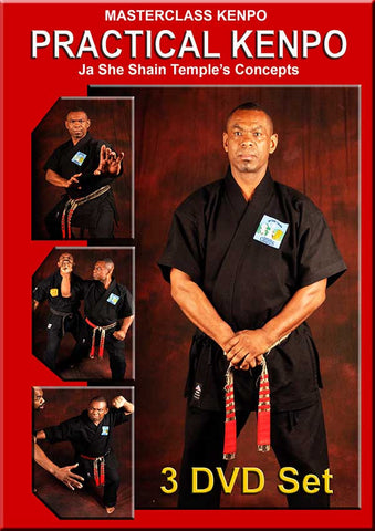 Masterclass Kenpo - Practical Kenpo 3 DVD Set by Robert Temple - Budovideos