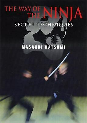 The Way of the Ninja: Secret Techniques Book by Masaaki Hatsumi - Budovideos